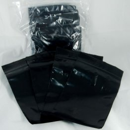 "100-baggie pack, Black, 3""x5"""