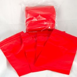 "100-baggie pack, Red, 3""x5"""