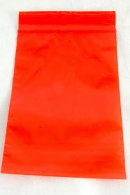 "100-baggie pack, Red, 4""x6"""