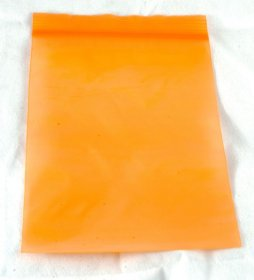 "100-baggie pack, Orange, 4""x6"""
