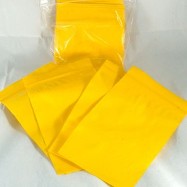 "100-baggie pack, Yellow, 3""x5"""